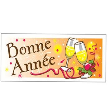 """RECTANGLE """"BONNE ANNÉE"""""""