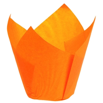 CAISSETTES PAPIER TULICUP ORANGE