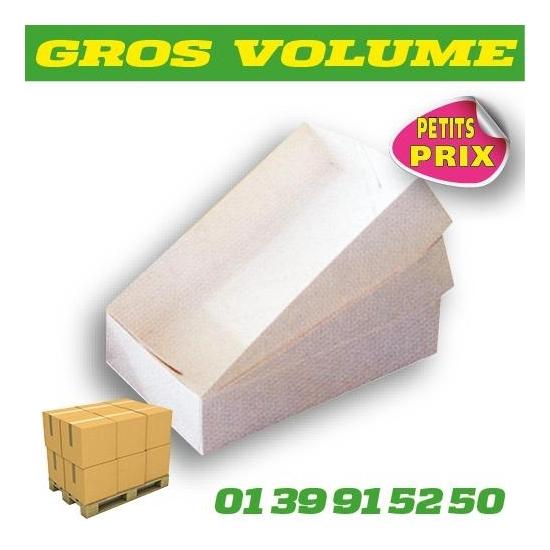 BOITES-PETITS FOURS-BLANCHES - 14x10x5 - Gros volume